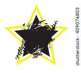 vector grunge stylized... | Shutterstock .eps vector #409076803
