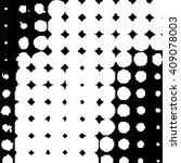vector dotted grunge texture .... | Shutterstock .eps vector #409078003