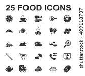 food icons set. food icons...