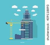 building process. success... | Shutterstock .eps vector #409118893