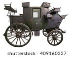 Smart Black Historic Carriage...