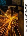 spot welding industrial... | Shutterstock . vector #409163743