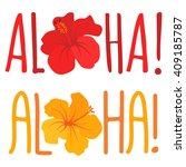 vector illustration with text... | Shutterstock .eps vector #409185787