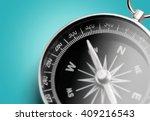 compass. | Shutterstock . vector #409216543