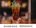 beautiful colourful cocktails... | Shutterstock . vector #409262413