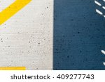 abstract shadow on concrete... | Shutterstock . vector #409277743