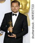 leonardo dicaprio at the 88th... | Shutterstock . vector #409357723