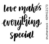hand drawn vector lettering....   Shutterstock .eps vector #409412173