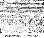 brick wall texture effect | Shutterstock .eps vector #409413823
