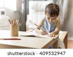 offspring toddler adolescence... | Shutterstock . vector #409532947