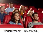 cinema  entertainment and... | Shutterstock . vector #409549537