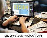 design creative inspiration... | Shutterstock . vector #409557043