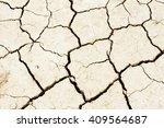 land dried up by drought | Shutterstock . vector #409564687
