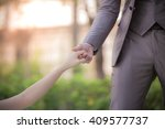 pictures of the couple is a... | Shutterstock . vector #409577737