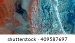 Small photo of The unstoppable advance of cancer, abstract photography of the deserts of Africa from the air, bird's eye view, abstract expressionism, contemporary art, Science fiction, optical illusions