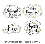 perfect illustration for food... | Shutterstock .eps vector #409644943