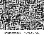 abstract repeating endless... | Shutterstock . vector #409650733