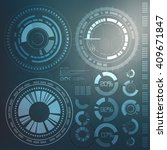 technology element.... | Shutterstock .eps vector #409671847
