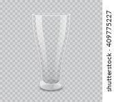 transparent glass vector... | Shutterstock .eps vector #409775227