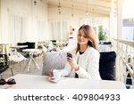 woman | Shutterstock . vector #409804933