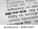 Small photo of Agnosia