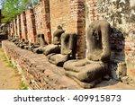 buddha statue in thailand | Shutterstock . vector #409915873