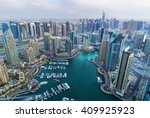 view on dubai marina...