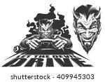 devil driver | Shutterstock .eps vector #409945303