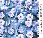 Flower Pattern. Seamless...