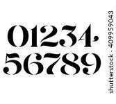 vector custom designed elegant... | Shutterstock .eps vector #409959043