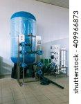 installation of industrial...   Shutterstock . vector #409966873