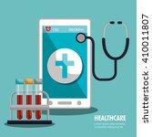 health technology design  | Shutterstock .eps vector #410011807