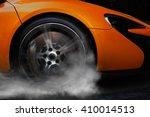 Orange Super Sport Car From...