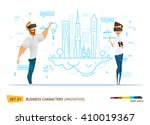 innovation business style. | Shutterstock .eps vector #410019367