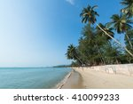 view of lipanoi beach at koh... | Shutterstock . vector #410099233