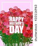 happy mothers day. large... | Shutterstock .eps vector #410116963