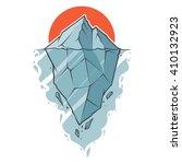 iceberg | Shutterstock .eps vector #410132923
