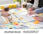 brainstorming focus brainstorm...   Shutterstock . vector #410133517