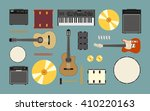 musical instruments include... | Shutterstock .eps vector #410220163