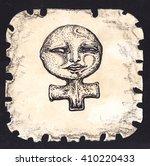 black outline zodiac symbols...