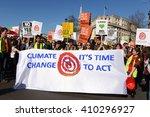 london  uk. 7th march 2015.... | Shutterstock . vector #410296927