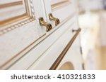 golden furniture handle  on... | Shutterstock . vector #410321833