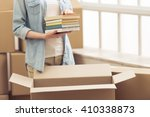 cropped image of attractive...   Shutterstock . vector #410338873