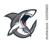 shark mascot   Shutterstock .eps vector #410350603