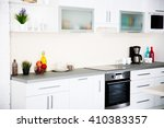 new modern kitchen interior | Shutterstock . vector #410383357