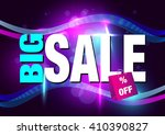 big sale background with color... | Shutterstock .eps vector #410390827