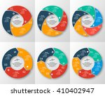 vector abstract 3d paper... | Shutterstock .eps vector #410402947