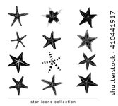 Starfishes Set .hand Drawn...
