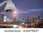 cctv monitoring  security...   Shutterstock . vector #410479837