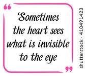 love quote. handwritten... | Shutterstock .eps vector #410491423